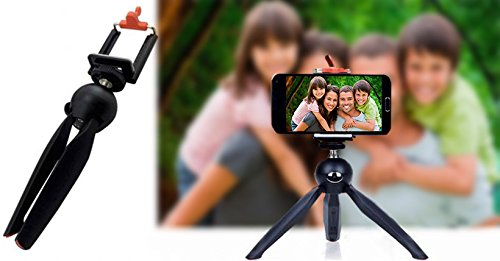 UNIGEAR YT-228 Mini Tripod (Black, Supports Up to 1500 g) Monopod Kit, Monopod, Tripod, Tripod Kit(Black, Supports Up to 500 g) 5