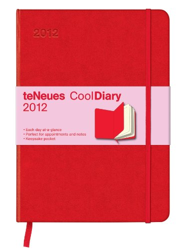 2012 Red/Red Cooldiary Daily Med
