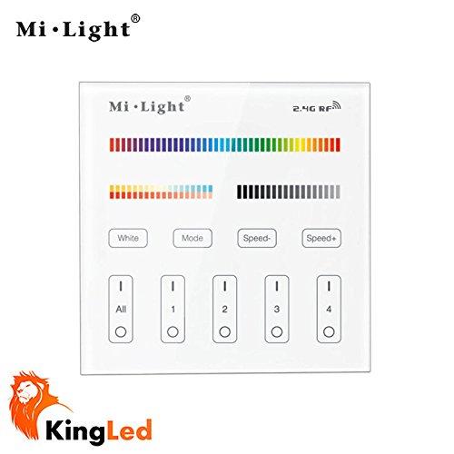 kingled-controller-da-parete-touch-multizona-dimmer-per-strisce-e-faretti-multicolore-rgbw-e-con-col