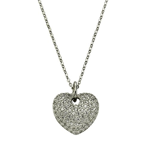 celesta-womens-necklace-with-pendant-925-silver-rhodium-plated-round-cut-white-zirconia-450-cm-50024