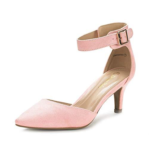 Dream Pairs Lowpointed Zapatos Tacón Vestir