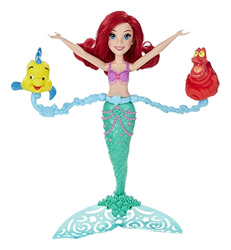 Disney- Princesas Muñeca, Color Verde y Rojo (Hasbro Spain B5308EU4)