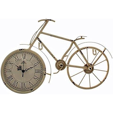 Reloj De Mesa bicicleta Carcasa Metal Shabby Look