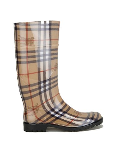 burberry-femme-3829467-marron-caoutchouc-bottes