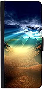 Snoogg New World Sunshinedesigner Protective Flip Case Cover For Xiaomi Mi 4