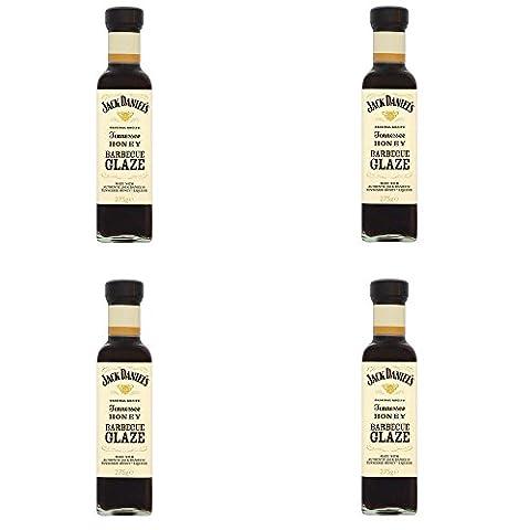 Offre 4Sauce Barbecue Tennessee Honey Glaze miel 275g Jack Daniel