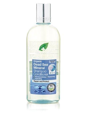 Dr. Organic Dead Sea Minerals Shampoo & Conditioner - Shampoo e Balsamo 2In1 265 ml