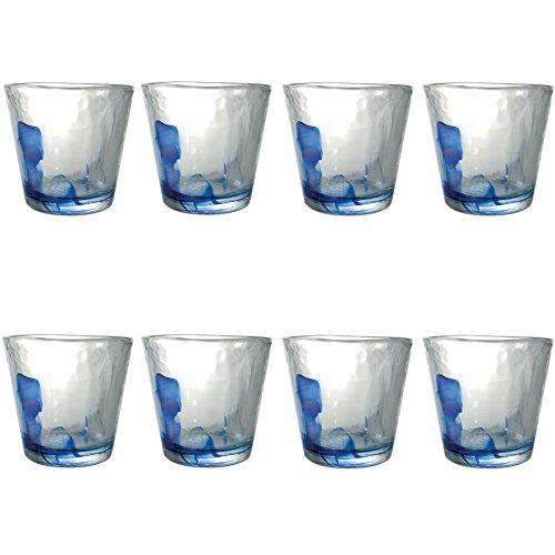 Murano Wasser/Saft Gläser Becher - 270ml - 8er-Set Bormioli Rocco Murano