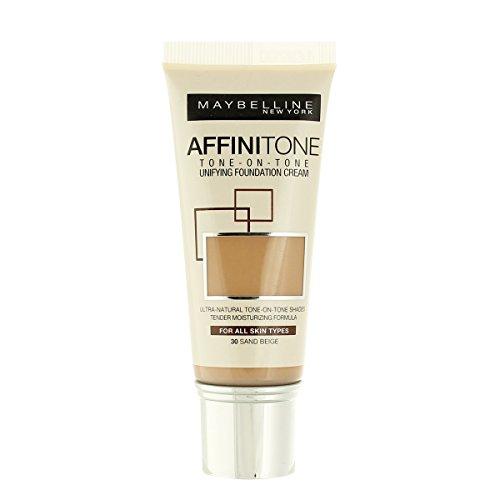 Maybelline Affinitone Unifying Foundation Cream (30 Sand Beige) 30 ml