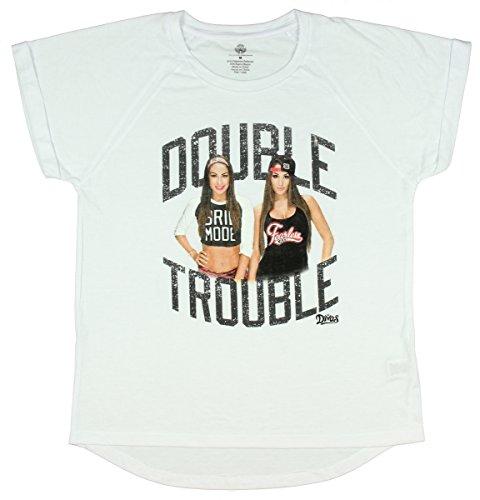 WWE-Divas Double Trouble Hi-Lo, Donna White X-Large