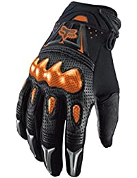 Fox 2015 Guantes Motocross Bomber Negro/Naranja - Negro, 90% Poliéster 8% Clarino 2% Silcone, XL (11)