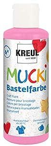 Mucki 24107-Pintura acrílica (80ml, Color Rosa