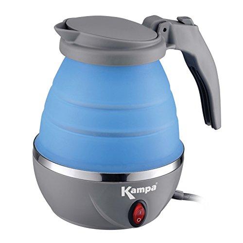 Nur Mens Tee (Faltbarer Camping Wasserkocher mit Einem Silikonkörper 0,8 Liter nur 1000W • Silikon Tee Kessel Wasserkessel Küche Outdoor 0,8 L)