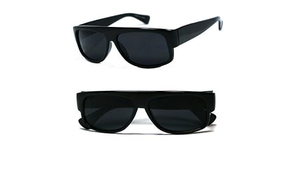 5f8646e63b Original OG Mad Dogger Locs Shades Sunglasses w Super Dark Lens (Black)   Amazon.co.uk  Clothing