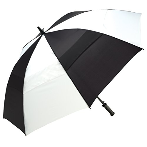 shedrain-4160a-blackwhite-windjammer-vented-auto-open-golf-umbrella-62-inch-arc