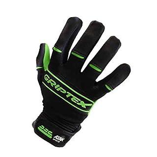 Atak Sports Men's Griptex Gaelic Gloves, Green, Small