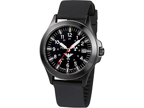 KHS Mens Watch Black Platoon Titan KHS.BPT.SB