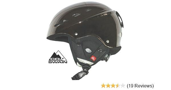 COX SWAIN Ski-/Snowboardhelm BONE, Farbe: Black Chrome, Größe: 54 ...