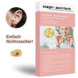 magnopuncture - Anti-Rauch-Magnet, ORIGINAL Magnet-Akupunktur, Einfach Nichtraucher - Rauchentwöhnung durch Magnet-Akupunktur, EXTRA...