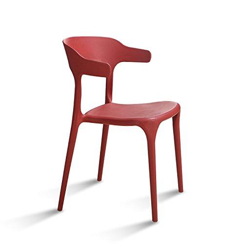 Xin-stool (Quantità: 3) Sedia di Pranzo Semplice di plastica Moderna/Sedia  Casuale di Modo/Tabella e sedie Creative del Ristorante/Sedia Posteriore ...