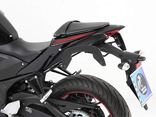 Hepco&Becker C-Bow Seitenträger - schwarz für Yamaha YZF-R3 -