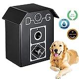 QBody Anti Barking Device, Dog Bark Collar Stopper, Waterproof Ultrasonic Dog Barking Deterrent