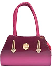 HBOS Stylish Ladies Handbag (Pink Bag 204)