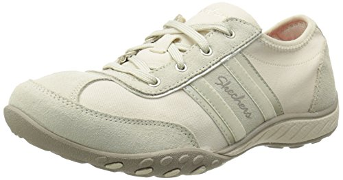 Skechers Sport Cool It Fashion Sneaker Natural Suede/Mesh/Light Gold Trim