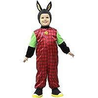 cb50b7445798 Pegasus Vestito Costume Maschera di Carnevale Bimbi - Coniglio Coniglietto  Black - Taglia 1/2