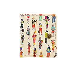 Chumbak Colorful Traveler Mini Wallet with Snap Button