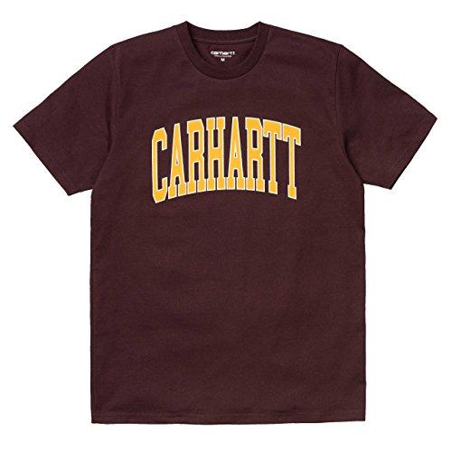 Carhartt WIP kurzarm Division T-Shirt für Herren (Rot-division-t-shirts)
