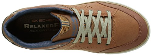 Skechers Diamondback Rendol, Baskets Basses Homme Marron