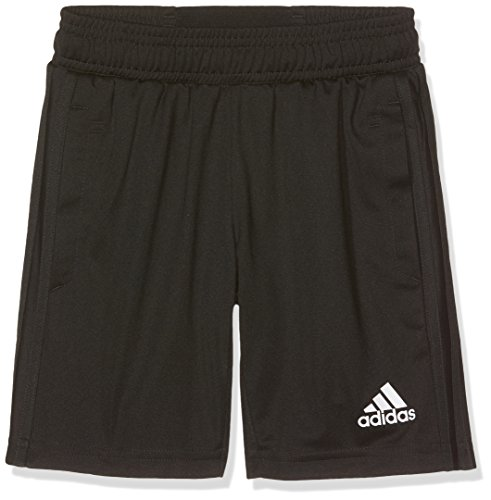 adidas Jungen Tiro 17 Trainingsshorts, Black/White, 128
