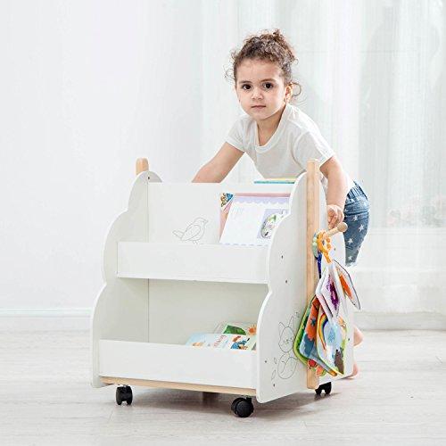 Labebe Büchermobil für Kinder | Bücherregal Kinder