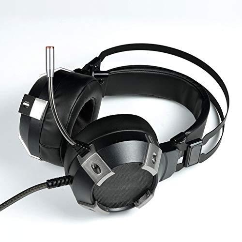 LEZDPP Juego E-Sports Headset Auricular Canal subwoofer