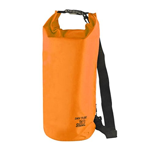 FakeFace Neu Wassderdicht Packsack Taschen Stausack Trockener Beutel 10 liter Orange 10L