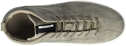 Ecco Damen Soft 1 Ladies Sneaker Grau (Warm Grey)