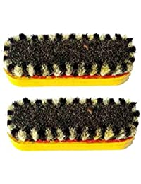 Shoe Polish Shiner Bristle Brush Shoe Polish Brush Set 2 - Yellow