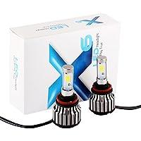 S & D 2x 30W H11H8H9COB LED Headlight Bulbs–60W 6,000lm Xenon bianco 6000K Plug & Play kit di conversione di ricambio