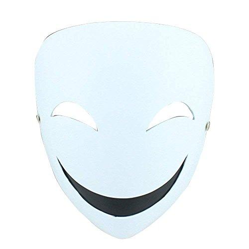 (JYCRA Halloween Maske Collector 's Edition Film Thema Maske aus Kunstharz für Masquerade Kostüm Party Cosplay Geschenk, Kunstharz, Hiruko Smile Mask, 20.5x16.5cm/8.07x6.5inch)