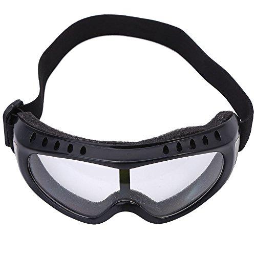Kinder Outdoor UV Schutzbrille Schutz vor Wind Sand für Radfahren(Transparent)
