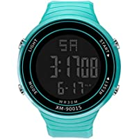 BIBOKAOKE Reloj Deportes Smartwatch Al Aire Libre LED Digital Unisex Watch Inteligente Deportivo Resistente Impermeable