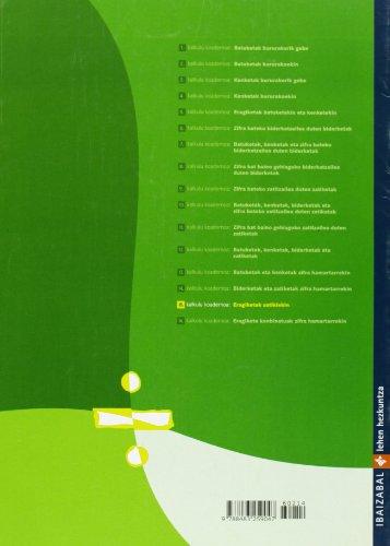 Kalkulu koadernoak 15: Eragiketak zatikiekin