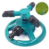 Ouken 360 ° Rasen Sprinkler automatische Garten Wasser-Sprinkler Wasser-Spielzeug für Kinder im freien 1PC (grün)