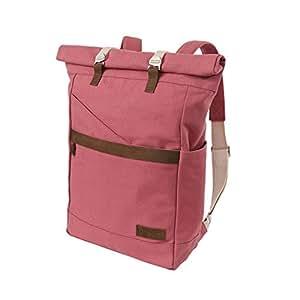 Ansvar Rucksack aus Bio Baumwoll Canvas - Altrosa - Hochwertiger Damen & Herren Vintage Tagesrucksack aus 100% nachhaltigen Materialien - Der erste Rucksack mit GOTS & Fairtrade Zertifikat