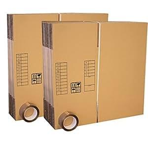 Lot 30 cartons déménagement livres poignées+ 2 adhésifs 66m