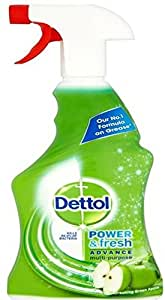Dettol All in 1 Trigger Spray - 500 ml (Green Apple Flavour)