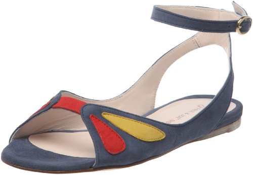 Paul & Joe Sister PALOMA CHEVRE 210540-50, Sandali donna, Blu (Blau (MULTICOLORE 2)), 38