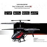 RC Helicopter, Remote Control Helicopter with Gyro and LED Light 3.5-Channel Mini Helicopter Toy with Remote Control Indoor Outdoor for Kids and Adults Beginners Gift