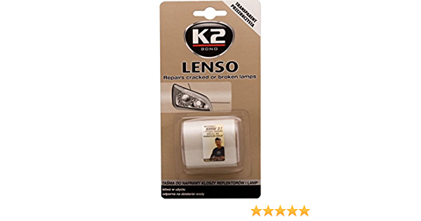 K2 Transparentes Lenso Band Reparieren Für Lampen Auto